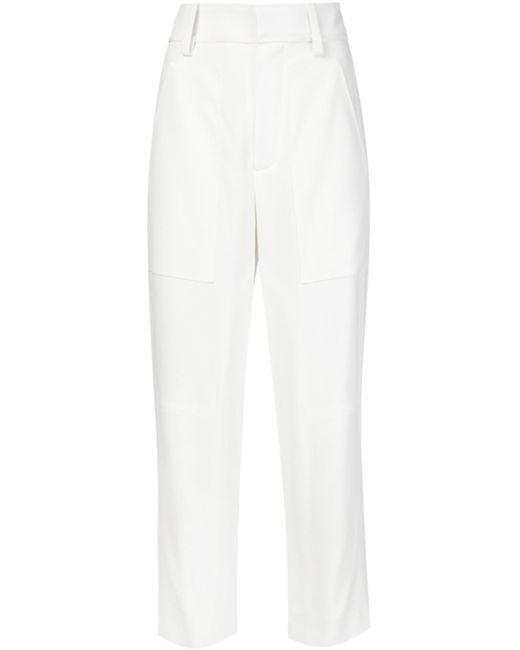Chloé | White Pleated Pants | Lyst