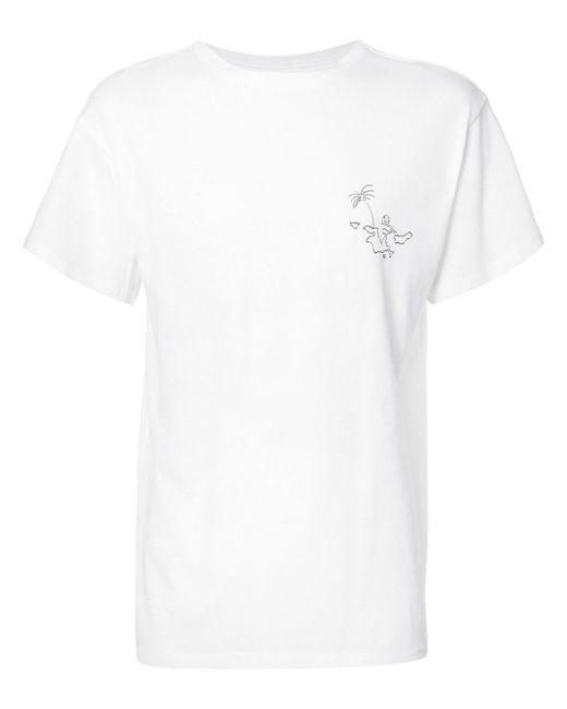 The Elder Statesman - White Classic T-shirt for Men - Lyst