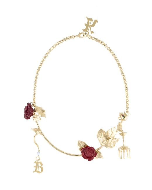 Christopher Kane - Metallic Chandelier Necklace - Lyst