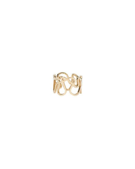 Repossi - Metallic Flat Gold Ring - Lyst