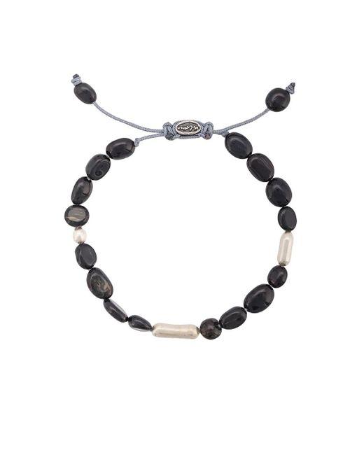 M. Cohen - Multicolor Adjustable Bead Bracelet for Men - Lyst