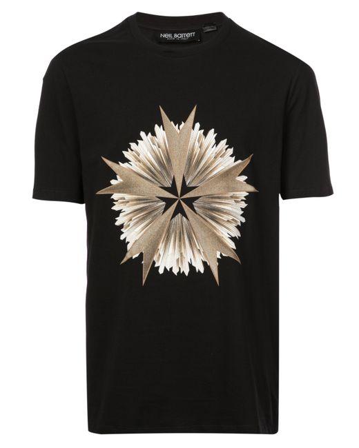 Neil Barrett - Black Geometric Print Tee-shirt for Men - Lyst