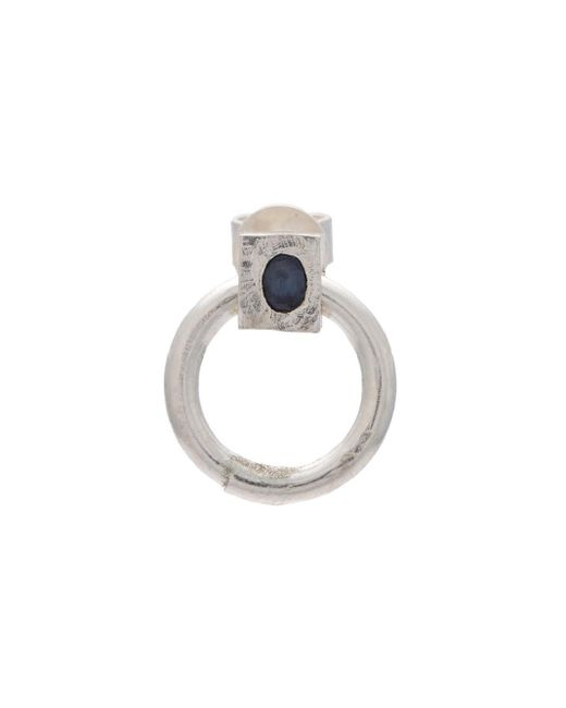 Henson | Metallic Sapphire Door Knocker Earring | Lyst