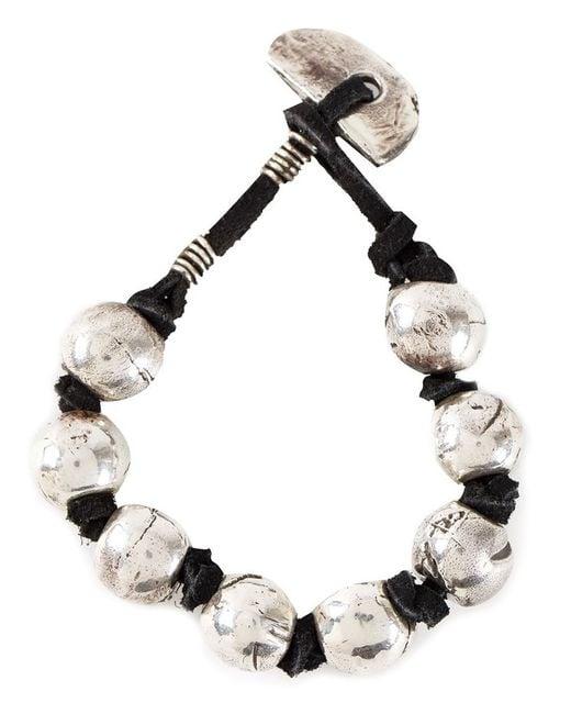Henson | Black Bead And Knot Bracelet | Lyst
