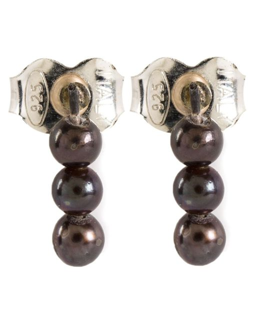 Henson | Multicolor Pearl Stud Earrings | Lyst