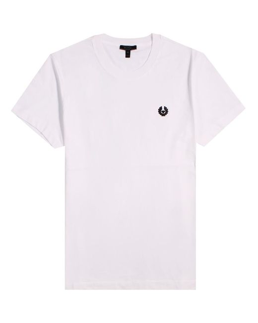 Belstaff - Monkfsford Classic Logo T-shirt White for Men - Lyst