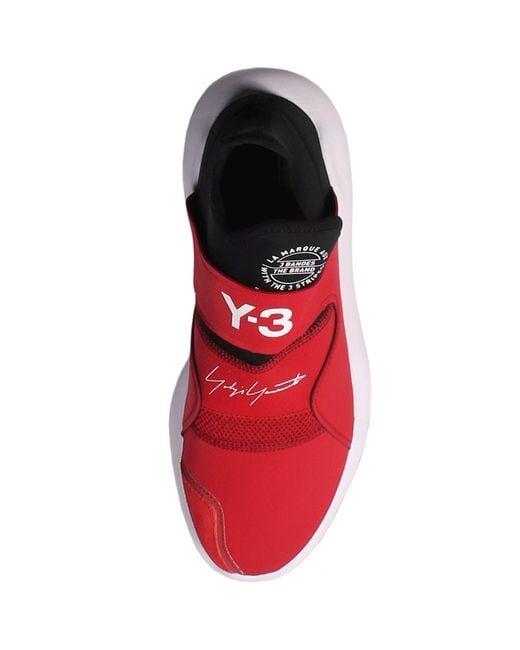 online store cf83b 5467f ... Y-3 - Red Y-3 Suberou Sneakers for Men - Lyst
