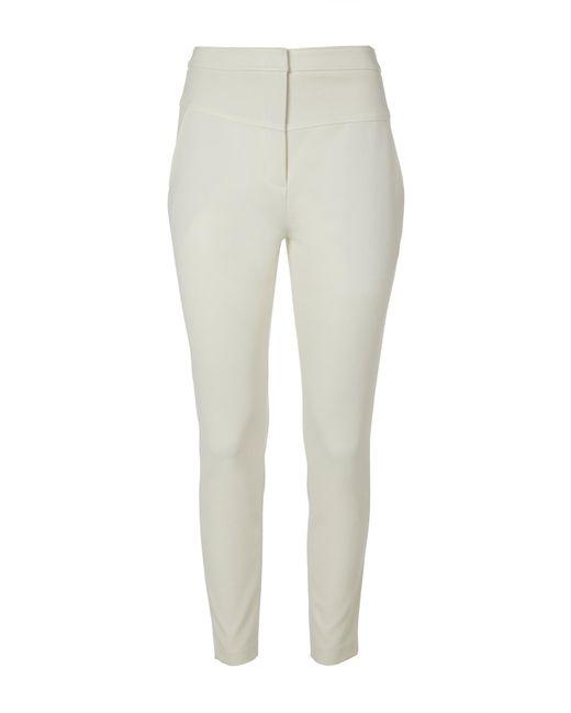 Tibi - White Anson Stretch Jamie Pants - Lyst