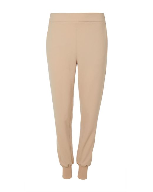 Tibi - Natural Structured Crepe Pull On Jogger - Lyst