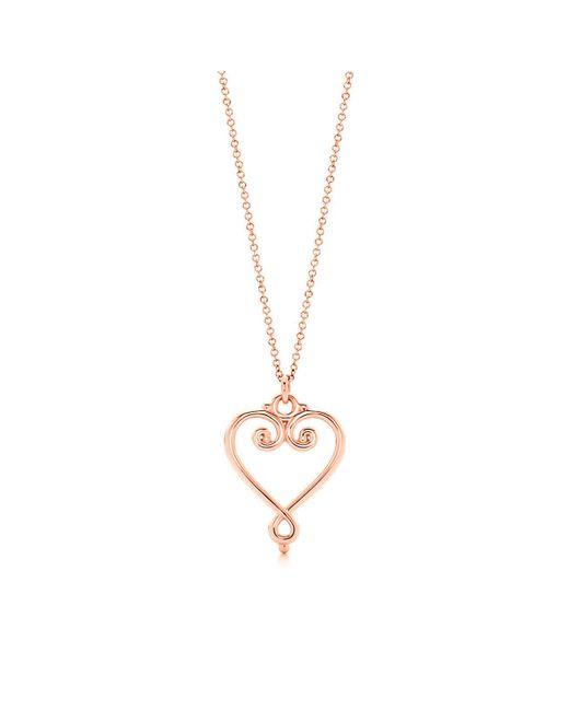 Tiffany & Co | Multicolor Goldoni Heart Pendant | Lyst