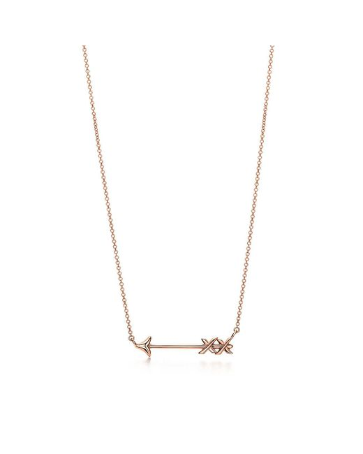 Tiffany & Co | Metallic Arrow Pendant | Lyst