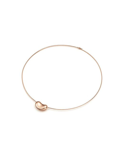 Tiffany & Co - Metallic Bean Wire Necklace - Lyst