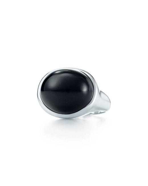 Tiffany & Co - Metallic Cabochon Ring - Lyst