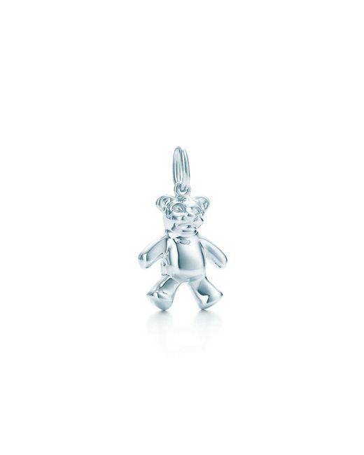 Tiffany & Co - Blue Teddy Bear Charm - Lyst