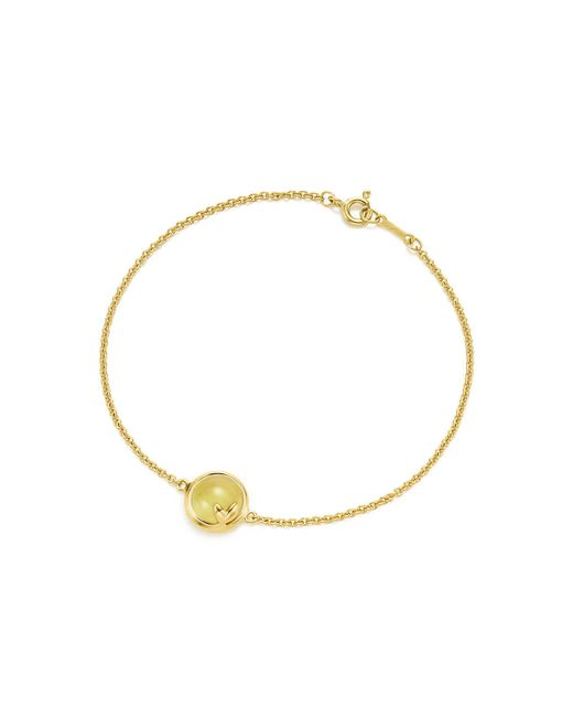 Tiffany & Co | Green Olive Leaf Bracelet | Lyst