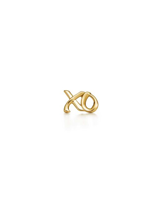 Tiffany & Co | Metallic Love & Kisses Single Earring In 18k Gold | Lyst