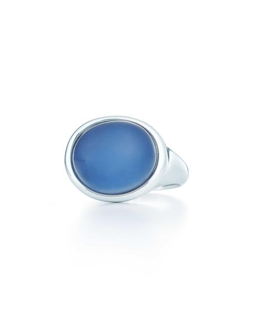 Tiffany & Co   Metallic Cabochon Ring   Lyst