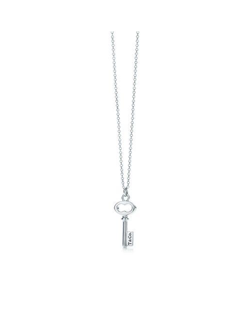 Tiffany & Co - Metallic Tiffany Keys T & Co. Key Pendant In Sterling Silver, Mini - Lyst