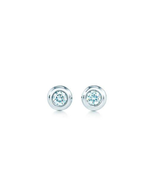 74d61801d Tiffany & Co - Metallic Elsa Peretti. Diamonds By The Yard. Earrings In  Sterling