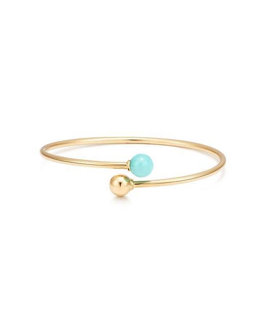 2174c799ce09 Tiffany Co City Hardwear Ball Byp Bracelet In 18c Gold