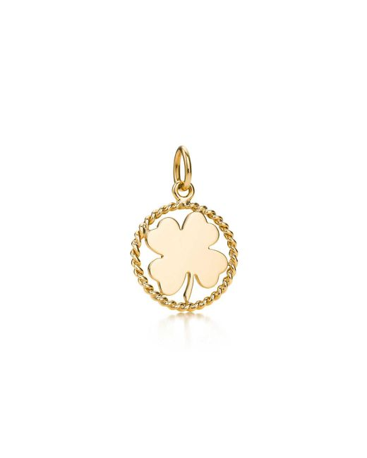 Tiffany & Co - Metallic Clover Charm - Lyst