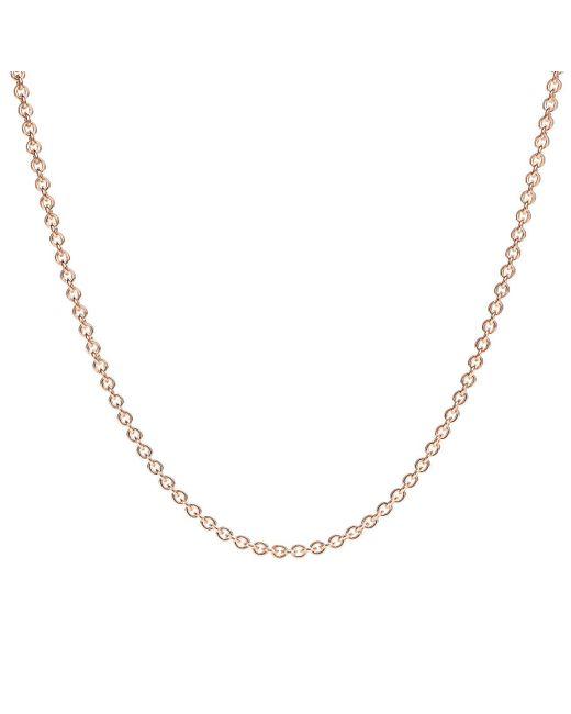 "Tiffany & Co - Metallic Chain In 18k Rose Gold, 16"" Long - Size 16 In - Lyst"