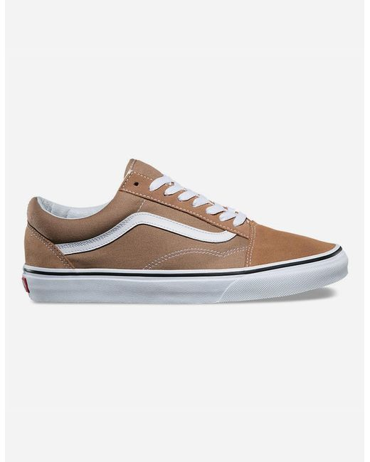 7a4a7be162 Vans - Brown Old Skool Shoes for Men - Lyst ...