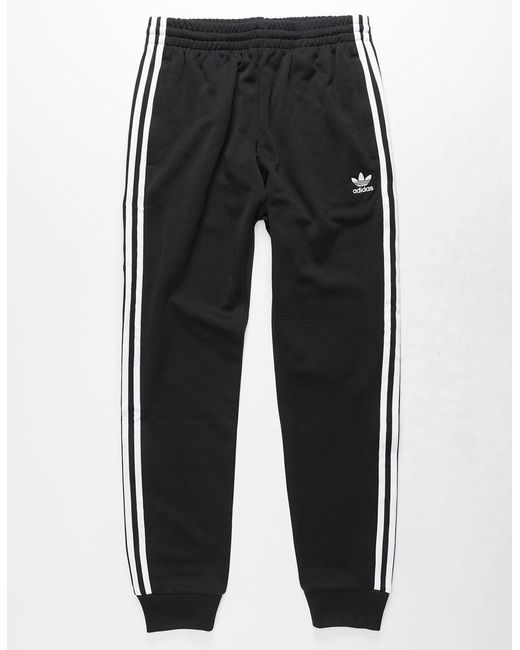 170878fc9c0 ... Adidas - Black Originals Side Stripe Mens Track Pants for Men - Lyst ...