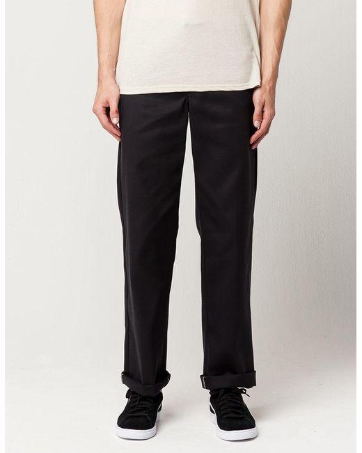 66db3bb0ad Dickies - Black 874 Flex Original Fit Mens Pants for Men - Lyst ...