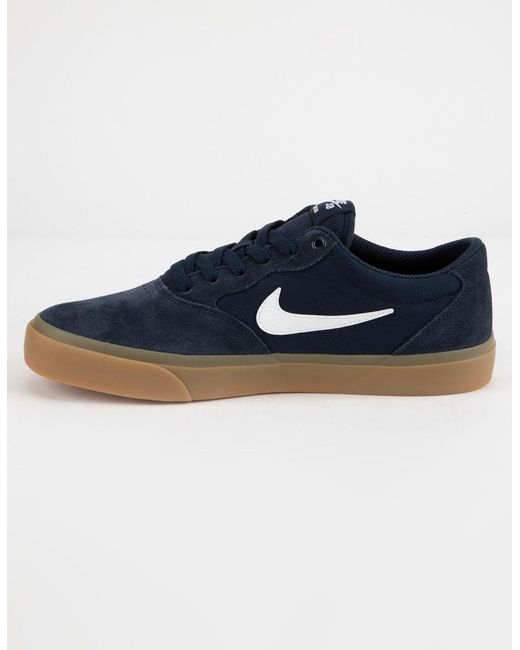 reputable site a2465 ec602 ... Nike - Blue Chron Slr Obsidian   White Mens Shoes for Men ...