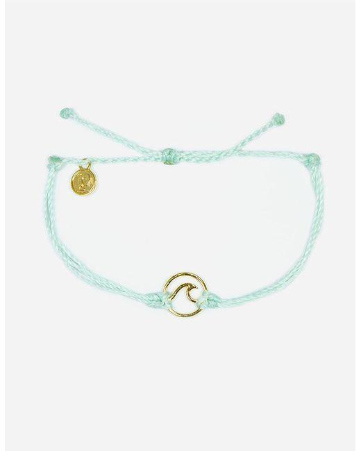Pura Vida - Metallic Wave Seafoam & Gold Bracelet - Lyst