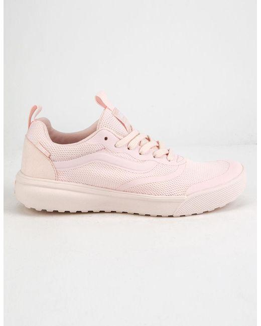 463e9bfe5f Vans - Pink Ultrarange Rapidweld Womens Pearl Shoes - Lyst ...
