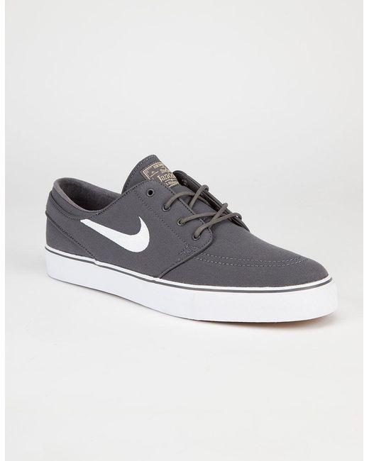 meet 63871 e3306 ... Nike - Gray Sb Zoom Stefan Janoski Shoes for Men - Lyst ...