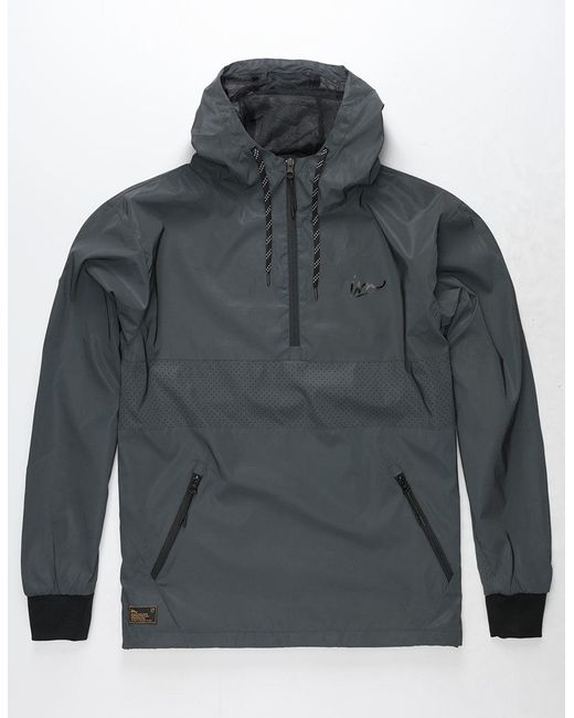 Imperial Motion - Black Helix Reflective Mens Anorak Jacket for Men - Lyst