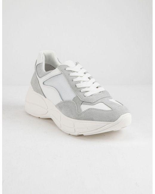 690b06f2174 ... Steve Madden - Memory White Womens Shoes - Lyst ...