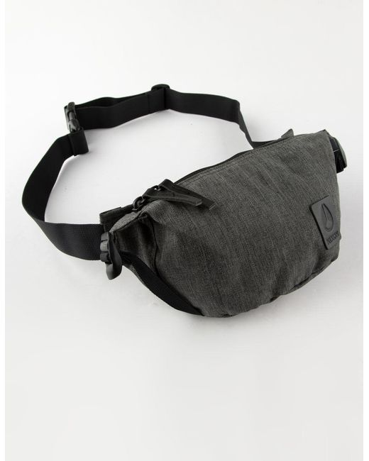 245b1f8bb80 Nixon - Gray Trestles Charcoal Heather Fanny Pack for Men - Lyst ...