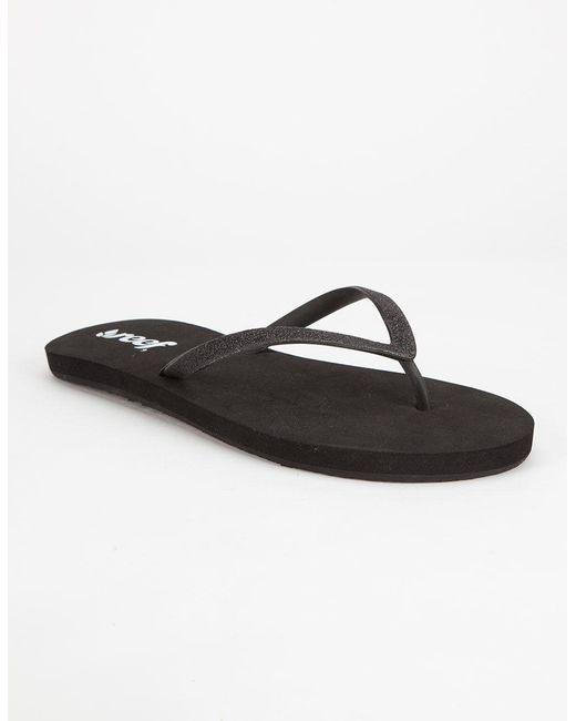 Reef - Black Stargazer Womens Sandals - Lyst