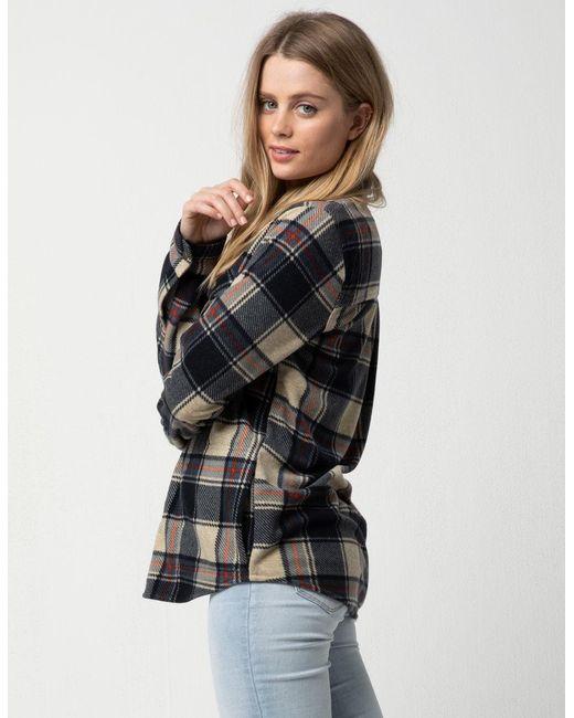 baa9f55d5 ... O'neill Sportswear - Multicolor Zuma Superfleece Womens Flannel Shirt  ...