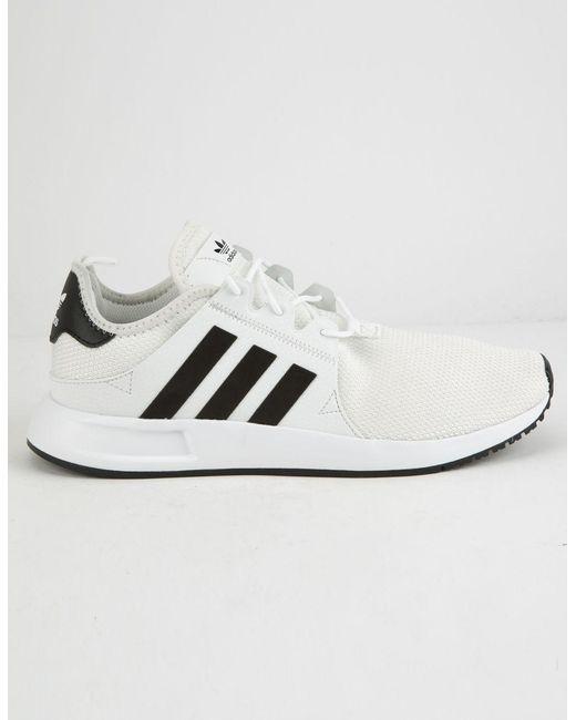 sports shoes 91beb c504f Adidas - X plr White   Black Shoes - Lyst ...
