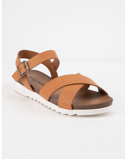 1a04f14bc634 Dirty Laundry - Black Charley Chicago Cognac Womens Ankle Sandals - Lyst ...