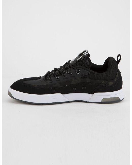 9644193acc ... DC Shoes - Black Legacy 98 Slim Se Mens Shoes for Men - Lyst ...