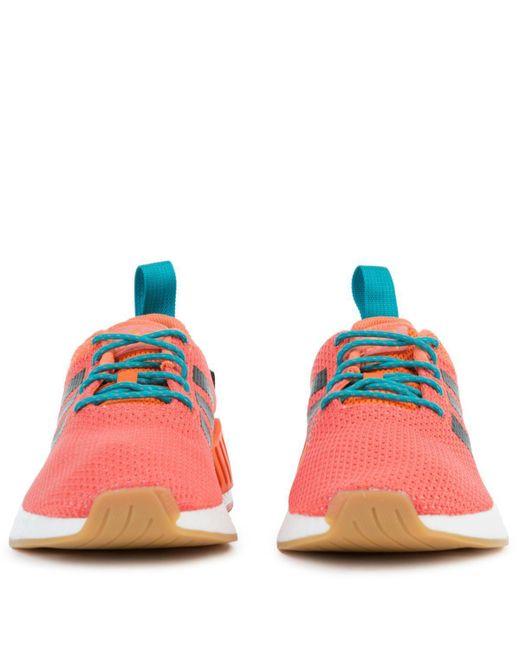 9e5a2f13a1900 ... Adidas - Multicolor The Nmd R2 Summer In Orange