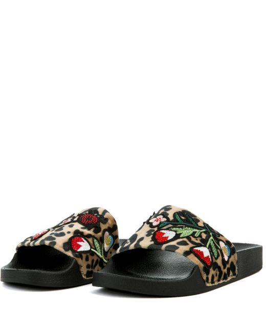 Steve Madden Patches-Blk Size 7us UO76L5g49