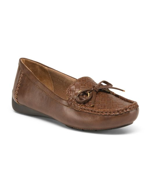 Tj Maxx Brown Wide Comfort Loafers