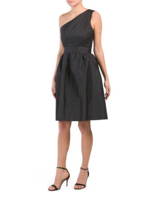 bcdbca7f Lyst - Tj Maxx One Shoulder Dress in Black