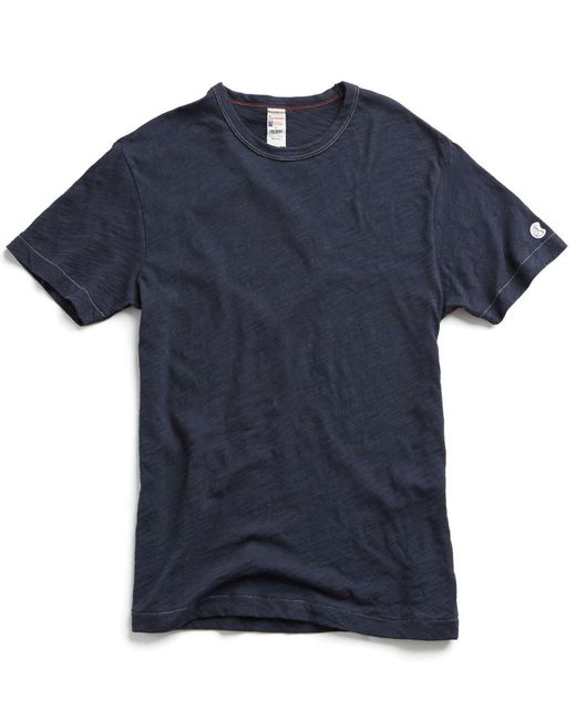 Todd Snyder - Blue Champion Classic T-shirt In Navy for Men - Lyst