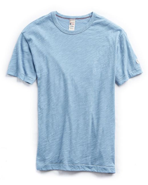 Todd Snyder - Blue Champion Classic T-shirt In Pale Surf for Men - Lyst