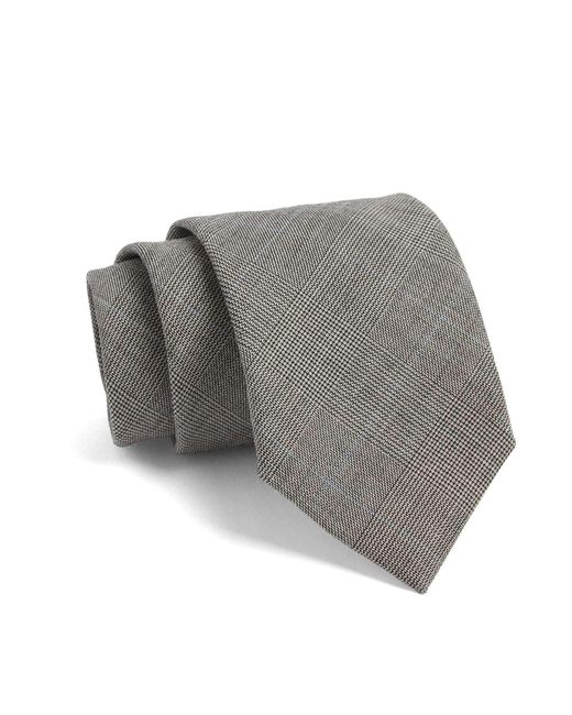 Todd Snyder | Gray Fulton Plaid Tie In Grey for Men | Lyst