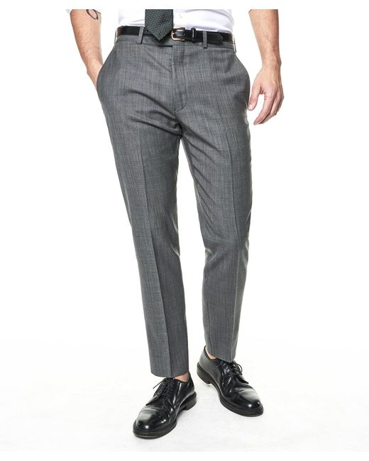 Todd Snyder - Gray Sutton Suit Pant In Italian Natural Stretch Light Grey Wool for Men - Lyst