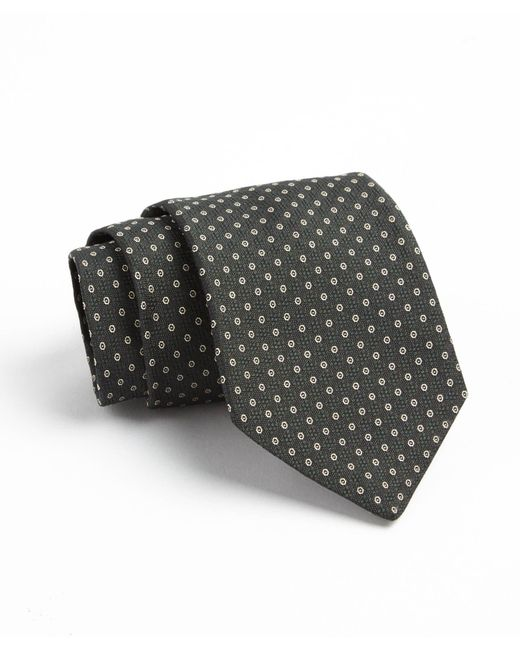 Todd Snyder - Fulton Tie In Dark Green Open Circle for Men - Lyst